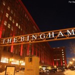 The Bingham Apartment Building Sign
