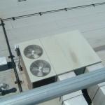 HVAC Equipment on Roof of The Bingham Apartment Building