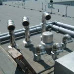 HVAC Equipment on Roof of The Bingham Apartment Building