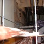 Geauga Mechanical Employee Installing HVAC System