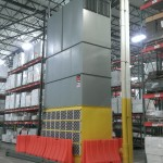 HVAC Equipment in Warehouse