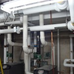 HVAC Piping at Lake Erie College