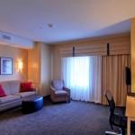 Interior of Cambria Suites Hotel