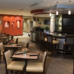 Hotel Lobby and Bar Area