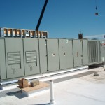 Commercial HVAC System on Hotel Roof