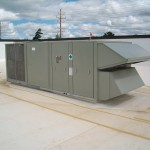 HVAC Equipment on Roof of Municipal Building