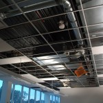 HVAC System in Ceiling of Building