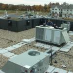 Installing HVAC Equipment at Senior Living Facility