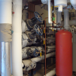Mechanical Systems Room at Case Western Reserve University