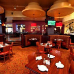 Interior of 4th Street Grill