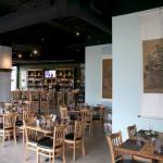 Interior of Chopsticks Restaurant