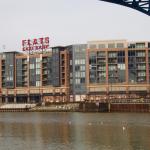 Exterior of Flats at East Bank