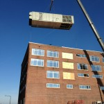 HVAC System Being Installed on Building Roof