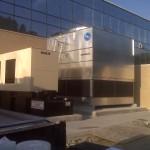 Commercial Building Exterior HVAC