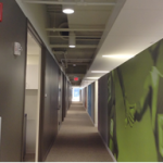Hallway of Office Building