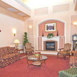 Senior Living Home Family Room