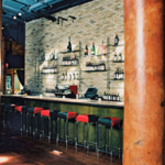 Interior of Vivo Restaurant