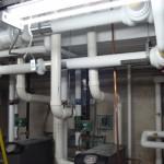 HVAC Piping at Lake Erie College