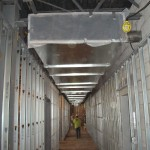 HVAC System Installation on Construction Site