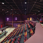 Interior of Near West Theatre with Seating