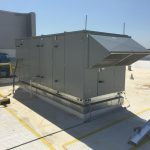 Commercial HVAC Equipment on Building Roof